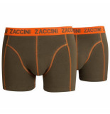 Zaccini 2-pack boxershorts - oranje