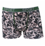 Uomo heren boxershort camouflage -