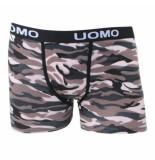 Uomo camouflage b3306 boxershort
