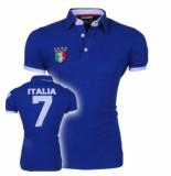 Doramafi Heren polo italië - blauw