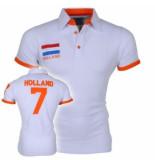 Doramafi Heren polo nederland - wit