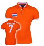Doramafi Heren polo nederland - oranje