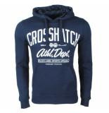Crosshatch hoodie sweat model ch hoody navy