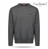 Pierre Cardin heren sweater ronde hals donker