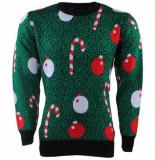 New Republic Unisex kersttrui fijn gebreid ronde hals -