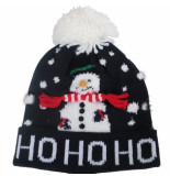 MZ72 kerstmuts hohoho snowman donker