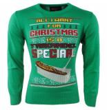 New Republic Kersttrui voor dames en heren all i want for christmas is a frikandel speciaal -