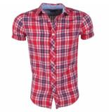 MZ72 heren korte mouw overhemd chema -