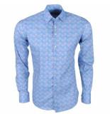 Ferlucci Heren overhemd met cupcake design calabria stretch -