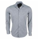 Ferlucci Heren overhemd tricot superstretch melee
