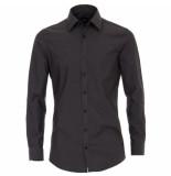 Venti heren overhemd poplin strijkvrij slimfit -