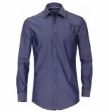 Venti heren overhemd strijkvrij slimfit stretch hyperflex navy