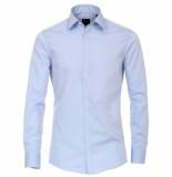 Venti heren overhemd poplin strijkvrij regular fit licht blauw