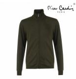 Pierre Cardin heren sweatvest army