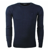Tom Tailor heren trui ronde hals navy