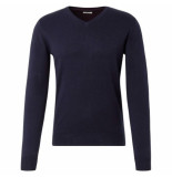Tom Tailor heren trui v hals navy