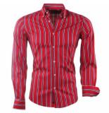 Carisma heren overhemd stretch gestreept -