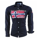 Geographical Norway heren overhemd zacolino -
