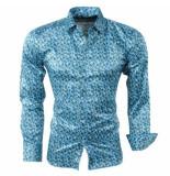 Pradz 2018 Pradz heren overhemd met trendy design - groen