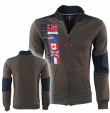 Canadian Peak trendy heren vest fagistral kaki