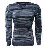 New Republic heren trui met v-hals fijn gebreid /wit