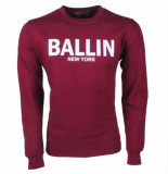 Ballin Est. 2013 heren trui sweat bordeaux