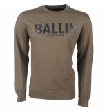 Ballin Est. 2013 heren trui sweat kaki