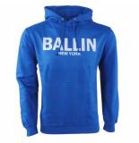 Ballin New York heren trui hoodie sweat cobalt
