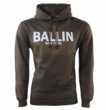 Ballin New York heren trui hoodie sweat kaki