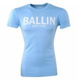 Ballin Est. 2013 heren t-shirt ronde hals slim fit licht