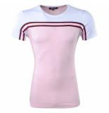 Carisma heren t-shirt ronde hals slim fit wit -