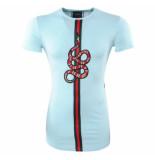 New Republic Millionaire lang heren t-shirt ronde hals slang slim fit -