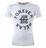 Just Relax heren t-shirt ronde hals forever slim fit licht