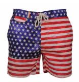 Tokyo Laundry american flag zwembroek rood wit blauw