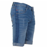 MZ72 heren jeans short fura stretch stone used