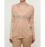 Please T-shirt summer longsleeve antique peach oranje