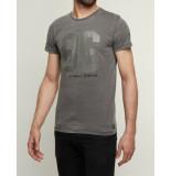 Noize T-shirt 86 charcoal grijs
