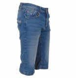 MZ72 heren jeans short feeling stretch stone used