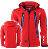 Geographical Norway heren softshell jas capuchon tarzan - rood