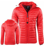 Geographical Norway tussenjas capuchon victory - rood