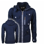 Soulstar heren zomerjas fleece voering capuchon mountaineer -