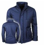 Montazinni trendy heren jas 410 - blauw