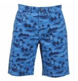 Tokyo Laundry trendy heren bermuda paradise - blauw