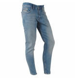 Catch heren jeans brown wash stretch lengte 32 denim