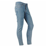 Catch heren jeans stretch lengte 32 light denim