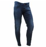 Cars heren jeans slim fit stretch lengte 34 blast dallas blue blauw