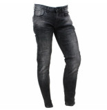 Cars heren jeans slim fit stretch lengte 34 blast black used zwart