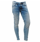 Cars heren jeans slim fit stretch lengte 34 blast stone fancy used blauw