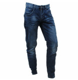 Cars heren jeans tapered fit stretch lengte 34 blackstar stone albany wash blauw
