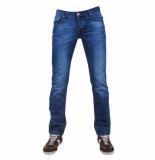 Montazinni exclusive designer jeans regular fit model 11 blauw